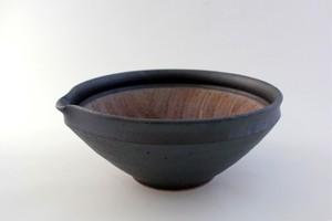加藤智也・すり鉢JUJU mortier 7寸(鉄黒・藁白・藁灰)