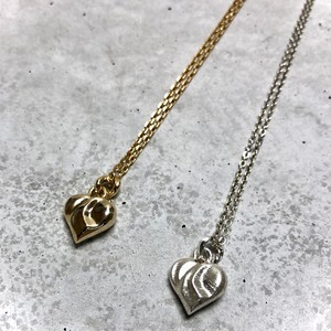 【MN-8SV】Heart motif long pendant