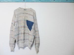 リメイク  コットンニット セーター  <ranbew>
