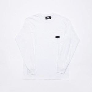 CRATE Onepoint L/S T-Shirts WHITE