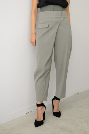 STAIR / DOUBLE WAIST PANTS
