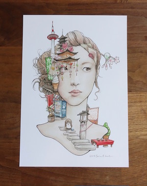 「京」A4 ミニポスター