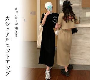 【♥即納】ロゴセットアップ  tops1218