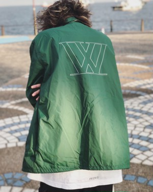 W logo Coach jacket 【Green】