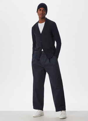DARTED OVERSIZE TROUSERS
