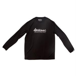 ロングスリーブドライTシャツ:ブラック