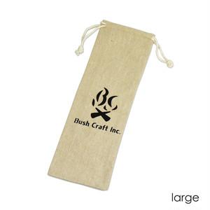 Bush Craft Inc ブッシュクラフト 麻袋 ラージ 自然派 キャンプ アウトドア  bc4573350720554