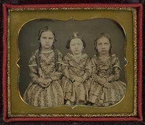 三姉妹のダゲレオタイプ