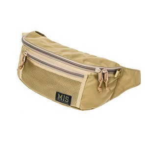 MIS-1017 MESH WAIST BAG - COYOTE TAN