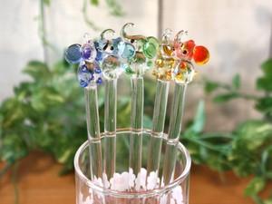 象さんのガラスマドラー 昭和レトロ