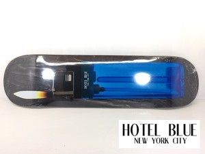 HOTEL BLUE NEW YORK CITY スケートボード デッキ 8, 8.25インチ 【 LIGHTER DECK 】