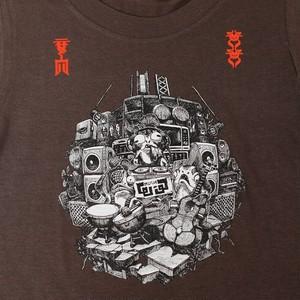 スプラトゥーン2  /  ω-3 Tシャツ (キッズサイズ)  / THE KING OF GAMES