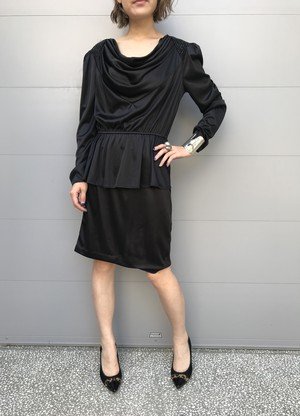 Vintage black dress (ヴィンテージ ブラック ドレス)