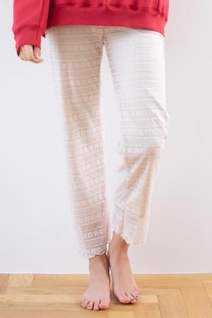 Sheerlace pants