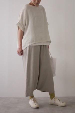 evam eva linen voile pullover