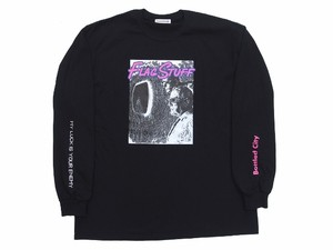 """ENEMY"" L/S Tee BLACK 18AW-FS-45"
