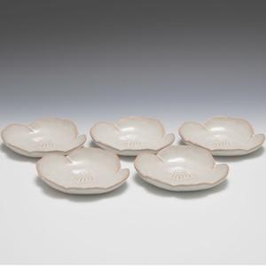 椿花銘々皿 5枚組