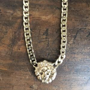 獅子ネックレス