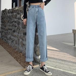 【ボトムス】ファッションシンプルデニム パンツ26639118