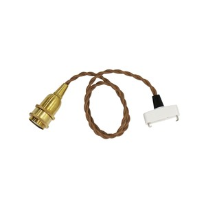 """Brown Cord """"60cm (E17)"""""""