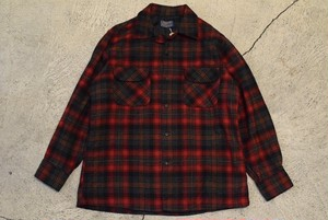 USED 50s Pendleton Board Shirt - 0852