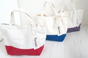 【3色展開】シンプルタグミニトートバッグ/バッグ