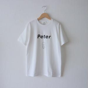 Peter Tシャツ・ホワイト