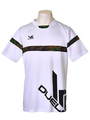 No0631 WHT S/Sプラシャツ