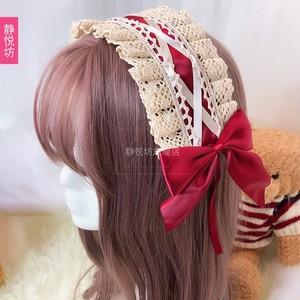 ロリータ 髪飾り  ロリィタ ヘアアクセサリー ヘアバンド 5540