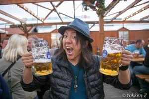 【アフリカ縦断応援】まぁ、コレでビールでも飲みなさいよ。