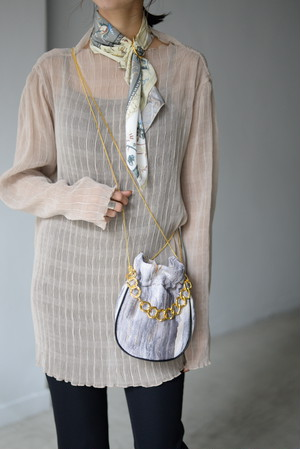 STAIR / PURSE BAG (beige)