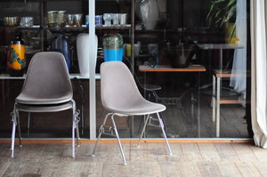 Side Shell Chair by Charles & Ray Eames for Herman Miller