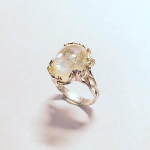 Dew・Ring  <Rutilated Quartz>