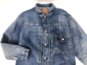 【orSlow】1st Type Denim Jacket with Paint