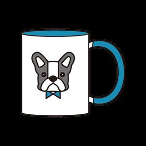2トーンマグカップ(パイド)_ブルー