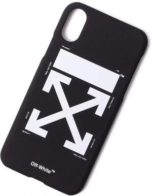 OFF-WHITE オフホワイト iPhoneケース Black[全国送料無料] r015472