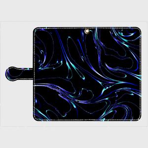 手帳型スマホケースLIQ  Android Lサイズ