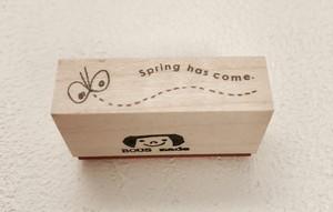 ちょうちょ。Spring has come.