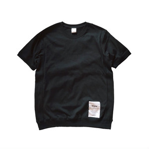 SIDE PANEL TEE [BLACK]