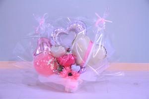 結婚式やお誕生日のお祝いに卓上バルーンギフトF(バルーンアレンジ) 送料込み 引き取りの場合5,300円