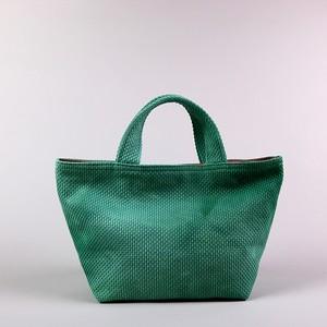 刺し子バッグS ライトグリーン