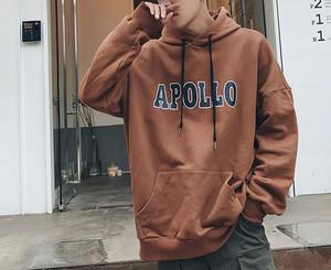 [HOT]Apolloデザインフーディー 2カラー