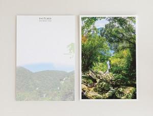奄美ポストカード「フナンギョの滝」