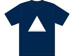 Split endは日本語で枝毛と言いますTシャツ ネイビー