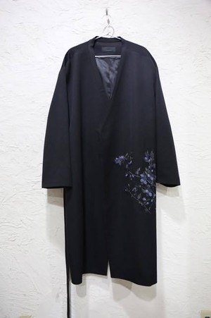 Flower Design Coat