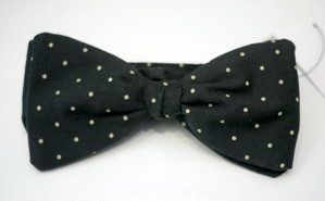 INDIVIDUALIZED ACCESSORIES bowtie Dot BLACK