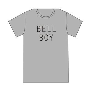 【Tシャツ】オフィシャルTシャツ(BELL BOY / GRAY)