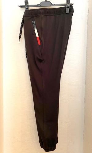Toricolor-Zip Ankle Pants Black