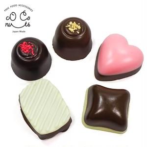 チョコレート 食品サンプル キーホルダー ストラップ