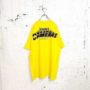 CAMERAS TEE(YELLOW)
